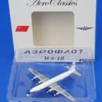 アエロクラシックス/AC00408 1/400 IL-18 アエロフロート CCCP-75880