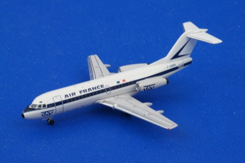 アエロクラシックス 1/400 F-28 フォッカー エールフランス F-GBBR