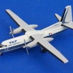 アエロクラシックス/ユーロクラシックス 1/400 フォッカー F-27 TAT AIR FARNCE F-BUFO