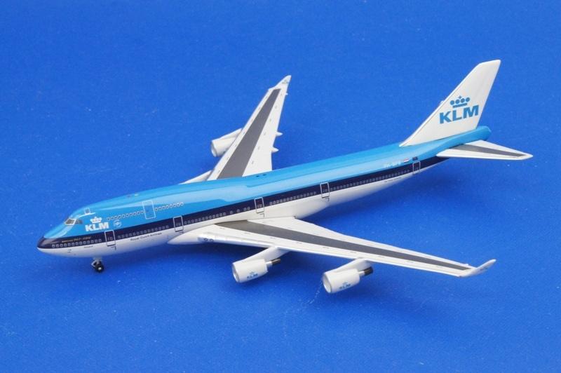 アエロクラシックス 1/400 B747-400 KLM/オランダ PH-BFB