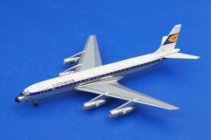 アエロクラシックス/AC80813 1/400 ダグラス DC-8-55 ルフトハンザ N8008D