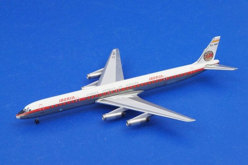 アエロクラシックス 1/400 DC-8 イベリア EC-BMY