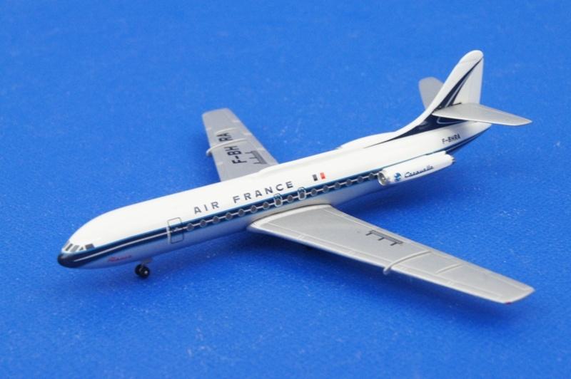 アエロクラシックス 1/400 SE-210 カラベル エールフランス F-BHRA