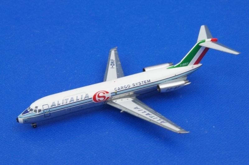 アエロクラシックス 1/400 DC-9 アリタリアカーゴシステム I-DIK