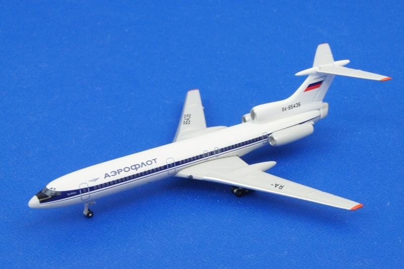 アエロクラシックス 1/400 Tu-154 アエロフロート RA85436