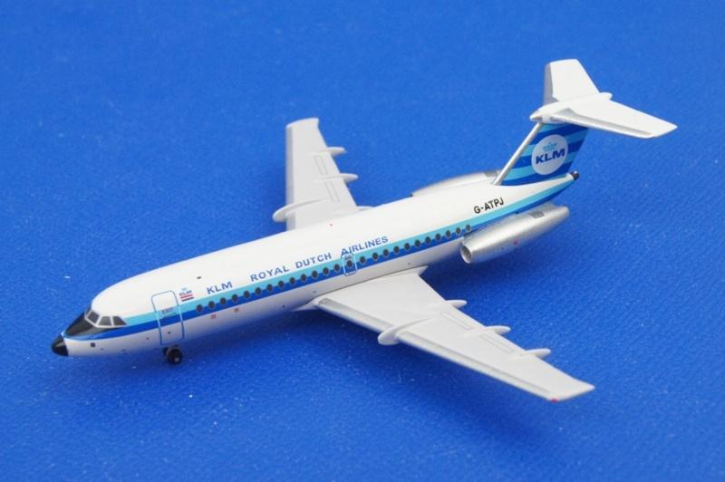 アエロクラシックス 1/400 BAC 1-11 KLM/オランダ G-ATPJ
