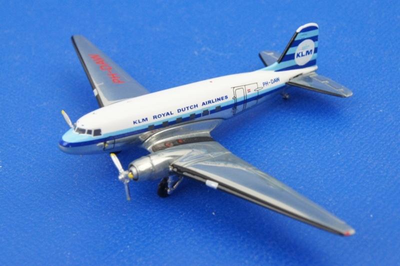 アエロクラシックス/AC91114 1/400 DC-3 KLM/オランダ PH-DAW