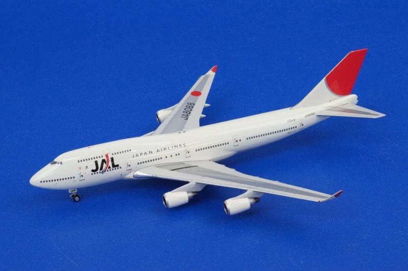 1/400 B747-400 JAL/アーク塗装 JA8088