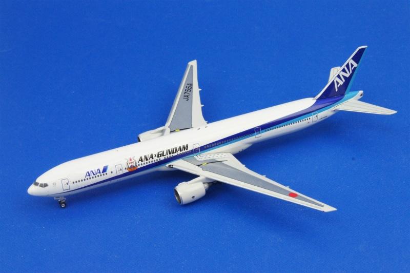 フェニックス 1/400 B777-300 ANA/ガンダムJET JA755A