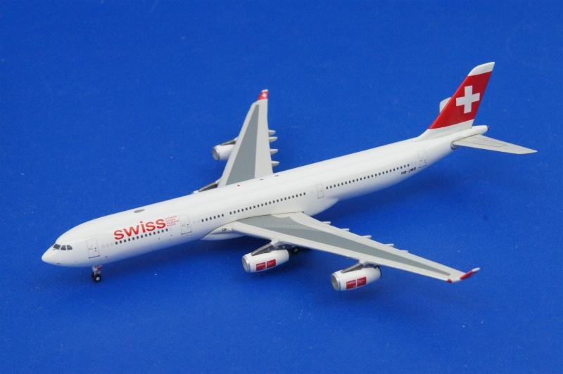 フェニックス/10028 1/400 A340-313X スイスエア HB-JMB