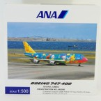 B747-400 ANA/お花ジャンボ