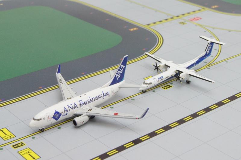 B737-700ER ANA/ビジネスジェット&DHC-8-400 ANA
