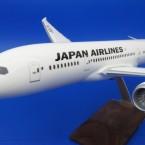 パックミン 1/100 B787-8 JAL/日本航空 JA822J