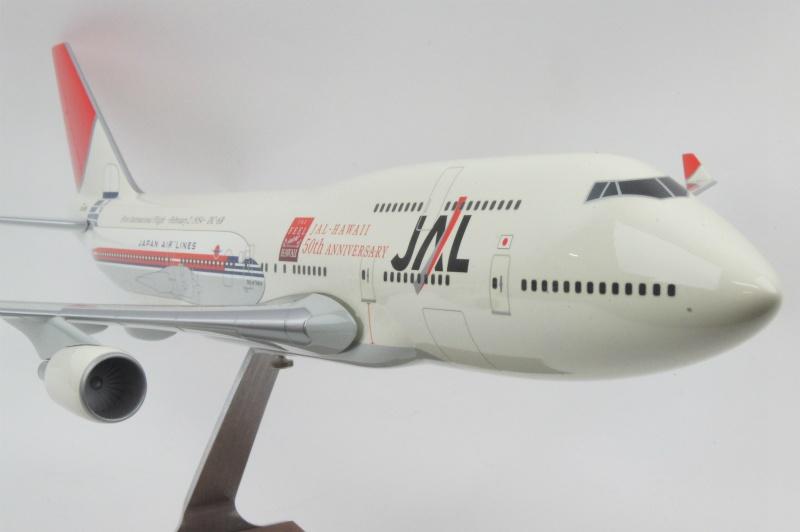 パックミン 1/100 B747-400 JAL/国際線就航50th JA8906