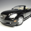73119k rb73119k Lexus SC 430 convertible black with working hardtop