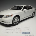 188103 no188103 Lexus LS 460 white pearl crystal shine