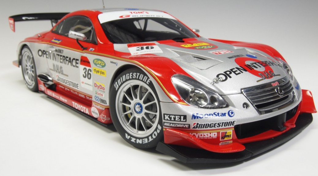 80631 aa80631 Lexus SC430 #36 Tom's Super GT Open Interface Juichi, Wakisaka Lotterer, Andre