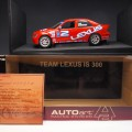AUTOart 80216 aa80216 Lexus IS 300 #2 Team Lexus , Lexus dealer Exclusive