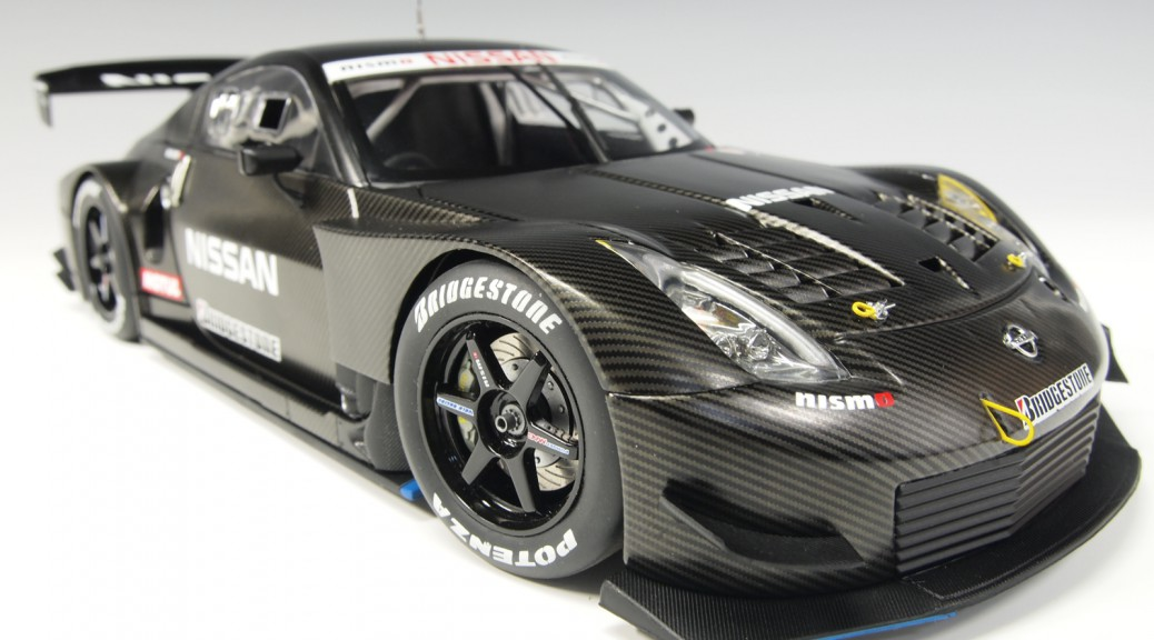 80580 aa80580 Nissan Fairlady Z JGTC Test Car Carbon Fiber