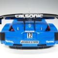80478 aa80479 Nissan Fairlady Z #12 Calsonic Treluyer, Benoit Ide, Yuji