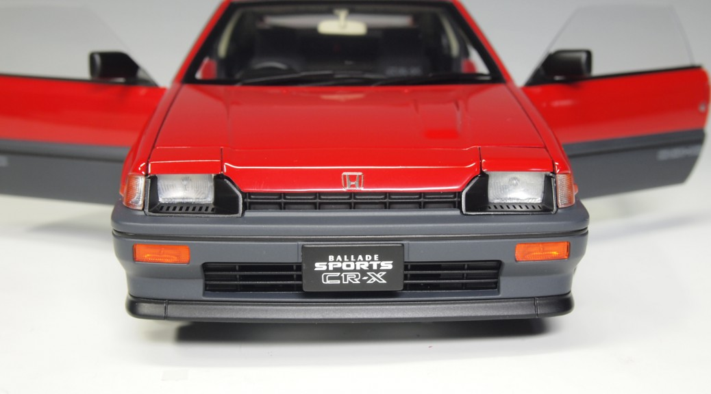 73262 aa73262 Honda Ballade Sport CR-X Si red RHD