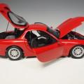 8002 ky8002r Mazda RX-7 FD-3S red RHD