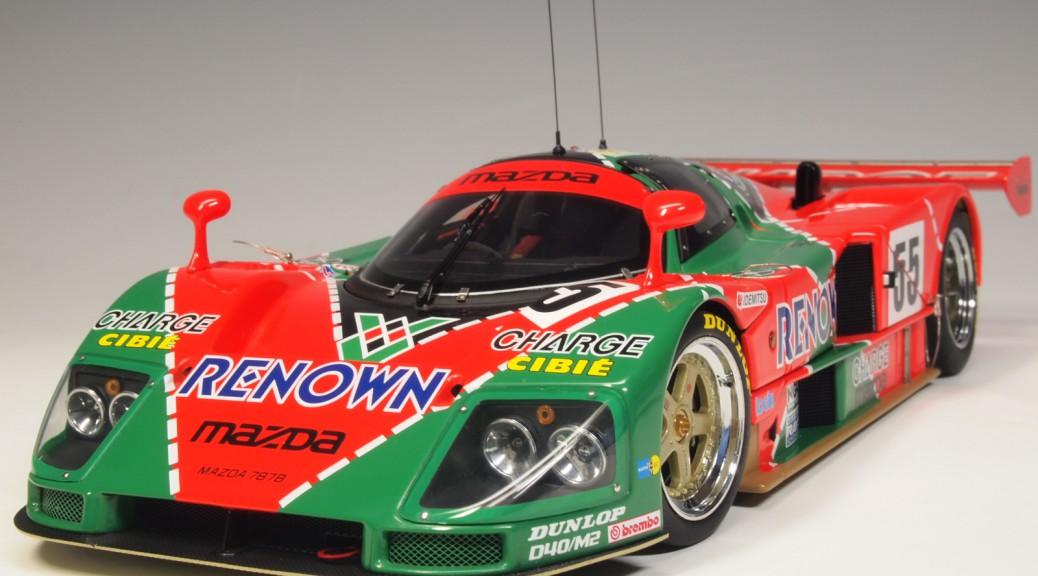 89144 aa89144 Mazda 787B #55 Renown , Lemans Winner Weidler, Volker Herbert, Johnny Gachot, Bertrand