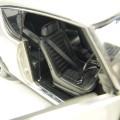 8254 ky8254s Nissan Skyline 2000 GT-R KPGC110 silver Street Sports Wide Wheel, RHD