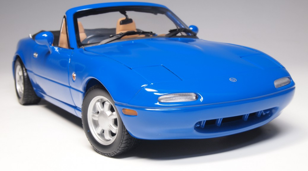 GATE 1302 aa1302 Mazda (Eunos) Roadster twilight blue mica RHD