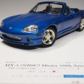 GATE 1071 aa1071 Mazda MX-5 Miata 2nd Generation metallic blue 10th Anniversary