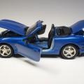 GATE 1071 aa1071 Mazda MX-5 Miata 2nd Generation metallic blue 10th Anniversary